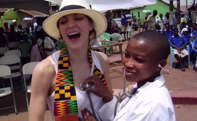 Katharine McPhee Discusses Charity Work On 'Pizza With an Icon' Series