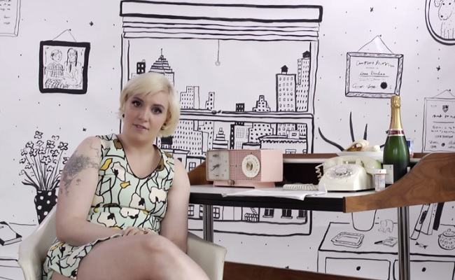 Lena Dunham Takes On Fan Questions In Her New Web Series 'Ask Lena' by Bree Brouwer of Tubefilter