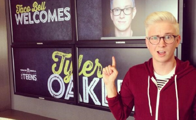 Tyler Oakley, Taco Bell To Award $30,000 To A Teen Scholar by Bree Brouwer of Tubefilter