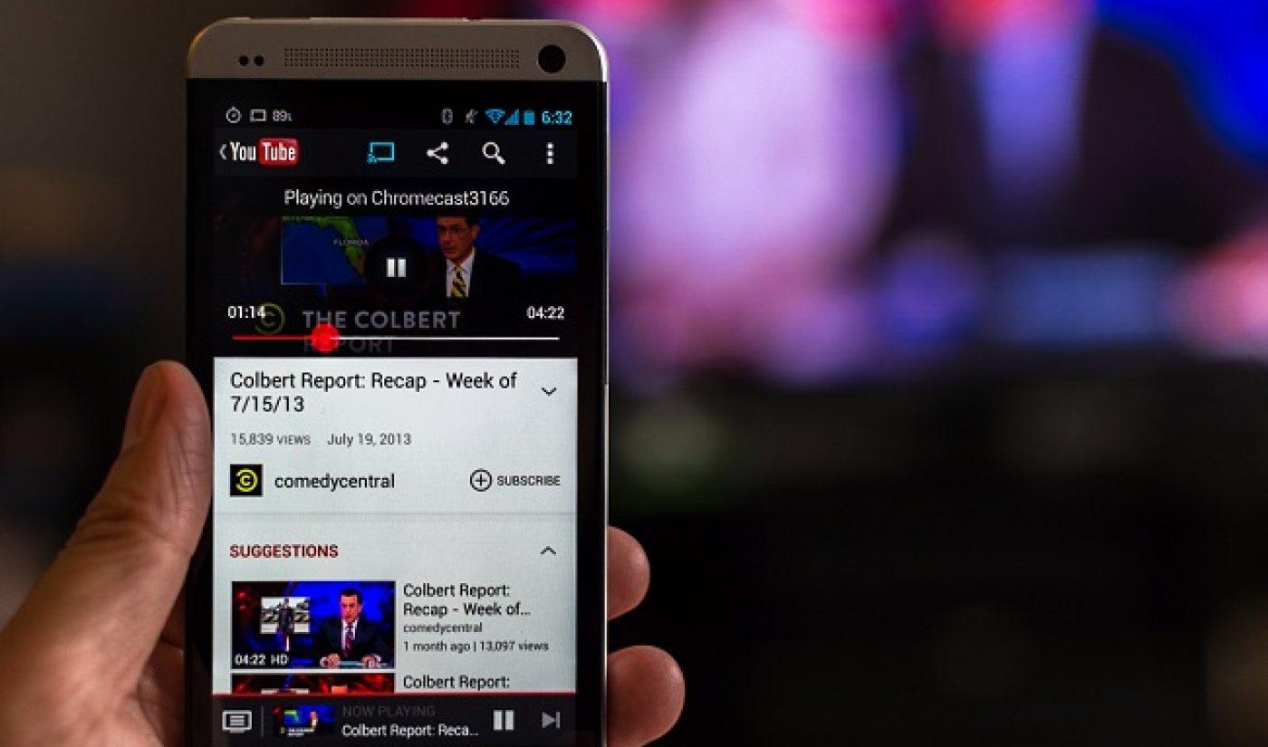 YouTube Beats Out Netflix, Hulu, Amazon Prime As TV Destination