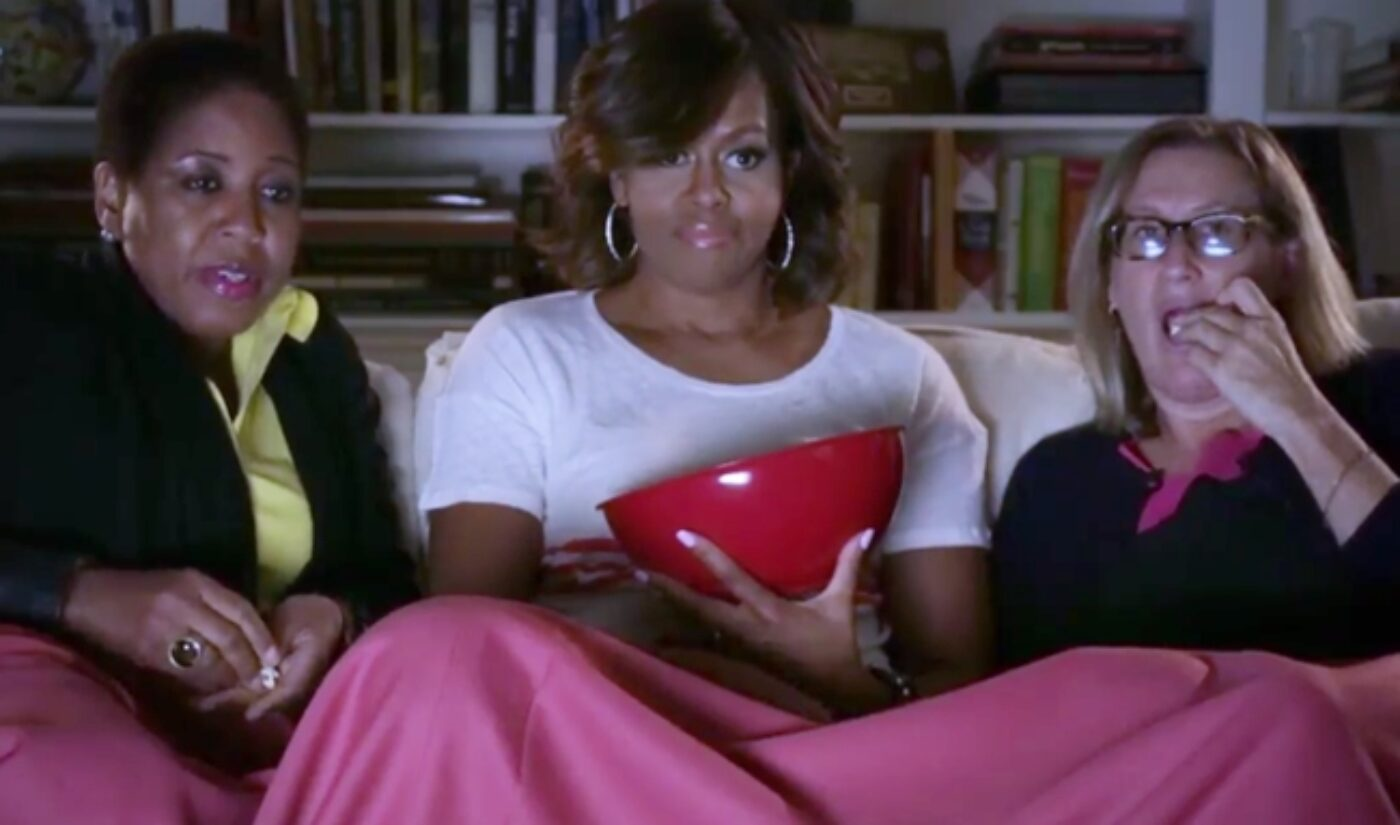 Funny Or Die Fights The 'Snackpocalypse' With Help From The First Lady
