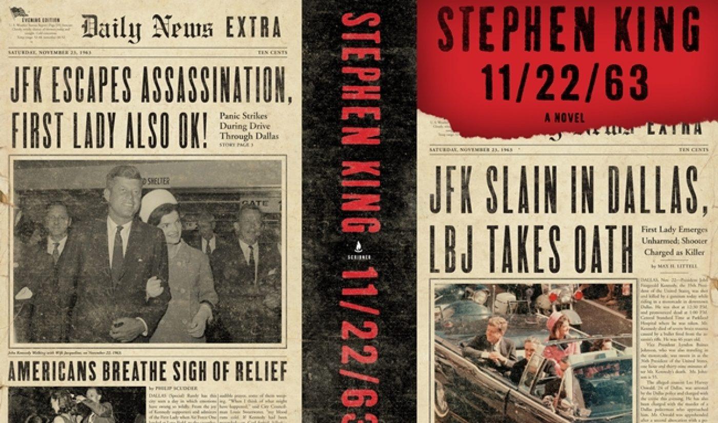 Hulu Taps JJ Abrams' Studio, Stephen King For Adaptation Of '11/22/63′
