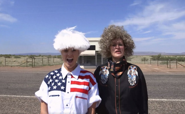 Grace Helbig And Mamrie Hart's '#HeyUSA' Debuts On The Scene by Bree Brouwer of Tubefilter