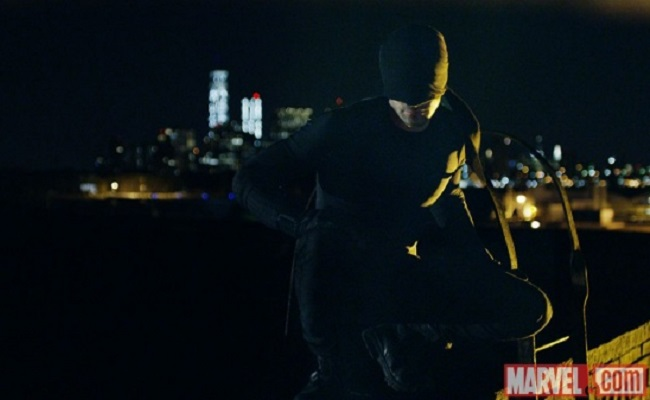 Netflix Teases First Looks, New Suit For Its Marvel 'Daredevil' Series by Bree Brouwer of Tubefilter