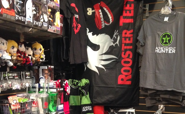 "Rooster Teeth Opens Up ""Pop-In"" Retail Shop In Austin Toy Store by Bree Brouwer of Tubefilter"