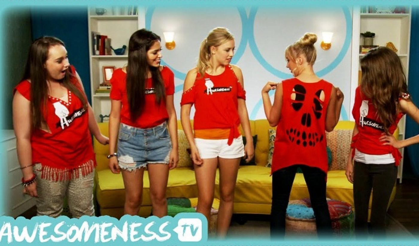 AwesomenessTV Opens Physical Pop-Up Retail Store For The Holidays