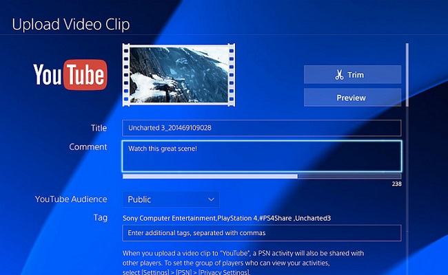 YouTube Sharing, Improved App Arrives On PlayStation 4 by Bree Brouwer of Tubefilter