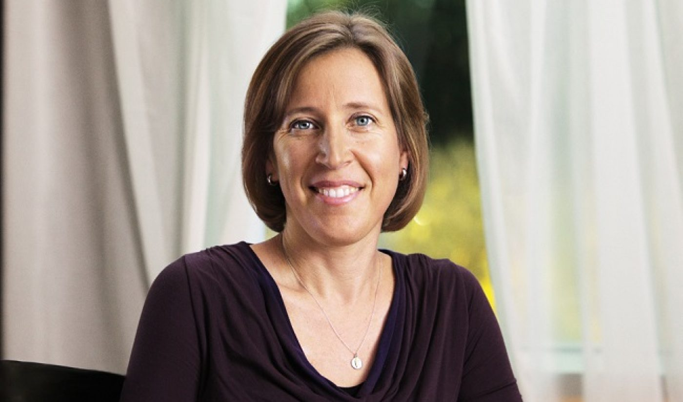 YouTube CEO Susan Wojcicki Discusses Her Plans For The Site