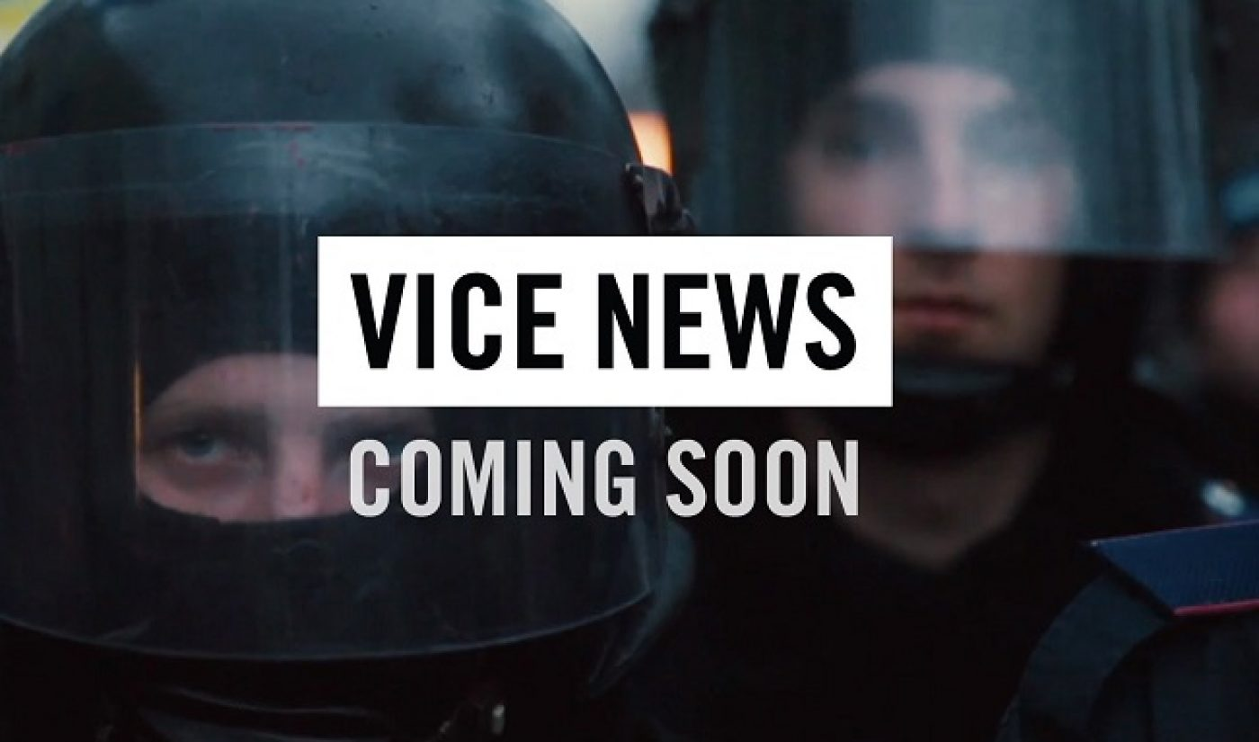 Vice News Will Expand YouTube Channel, Editorial Divisions To 7 New Countries