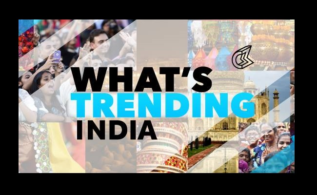 'What's Trending' Heads To India With The Help of Culture Machine by Bree Brouwer of Tubefilter