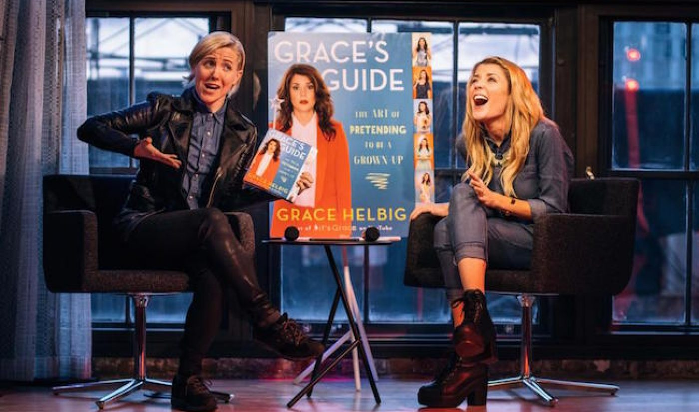 YouTube Star Grace Helbig Hits #1 On New York Times Best Sellers List