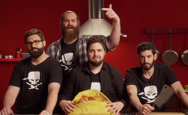 'Epic Meal Time' Returns To FYI With Massive Thanksgiving Feast by Bree Brouwer of Tubefilter