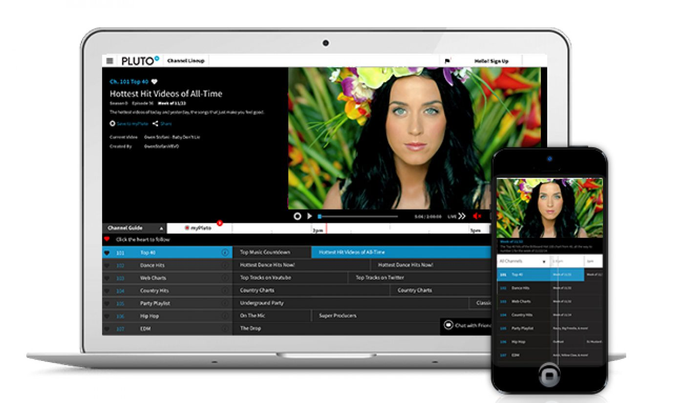 Pluto TV Lands $13 Million In Series A Funds, Adds New Advisors