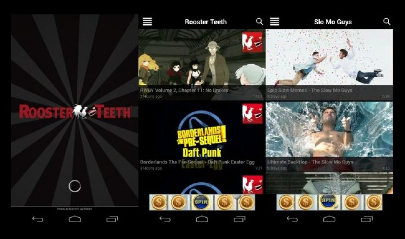 Rooster Teeth Releases Mobile App, TV And More Platforms To Follow