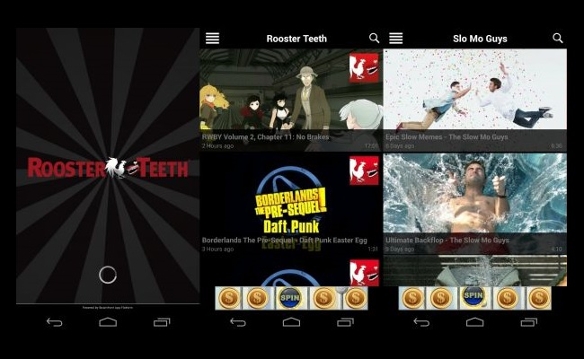 rooster teeth releases mobile app tv and more platforms to follow