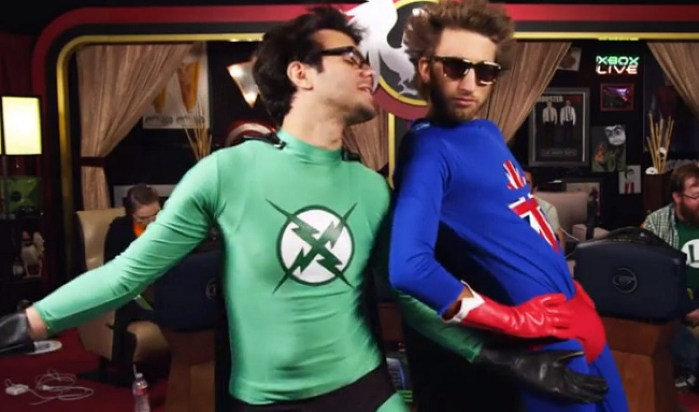 Rooster Teeth Drops Trailer For New 'X-Ray & Vav' Animated Series