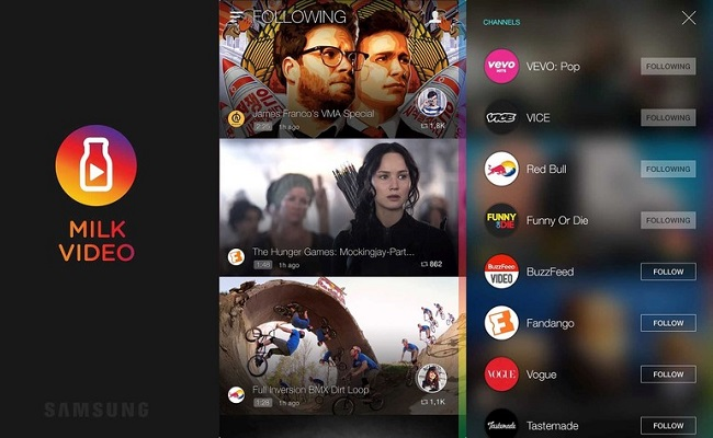 Samsung Aims To One-Up Apple With Galaxy-Exclusive Video Service App by Bree Brouwer of Tubefilter