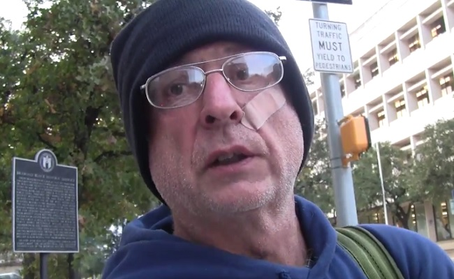 Homeless Austin Man Vlogs About His Daily Life On The Streets by Bree Brouwer of Tubefilte