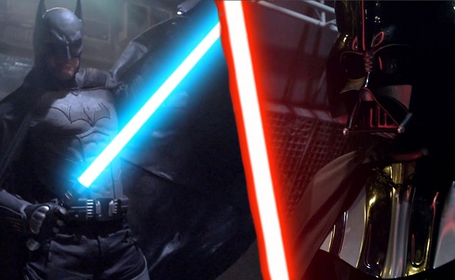 Machinima's New 'Super Power Beat Down' Pits Darth Vader Against Batman