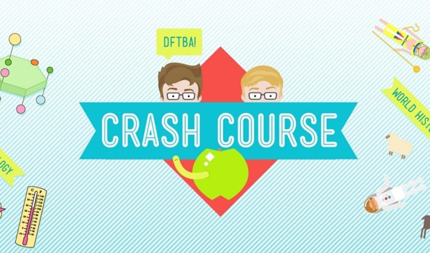Hank Green, John Green Team With PBS For More Crash Course Episodes