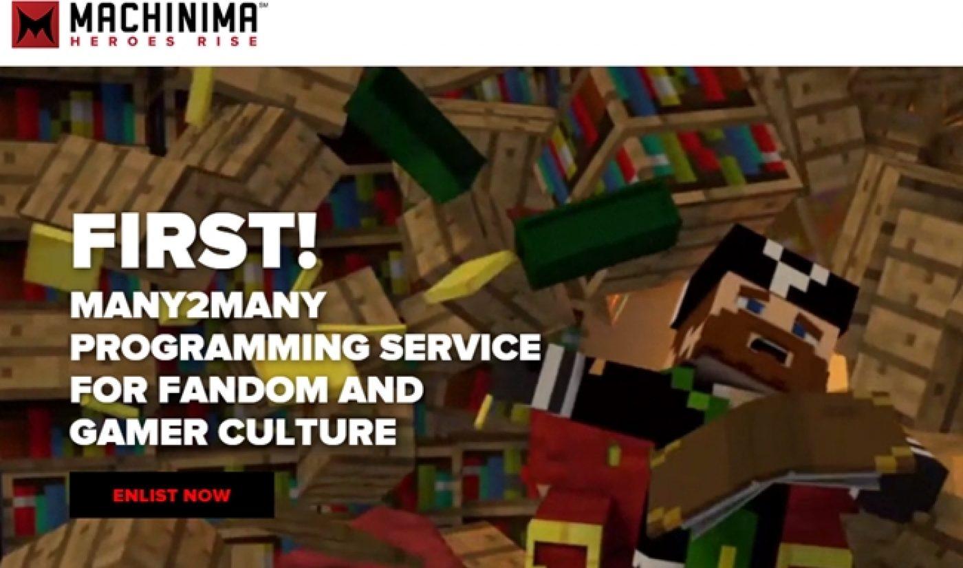Machinima Rebrands To Improve Talent Management, Website