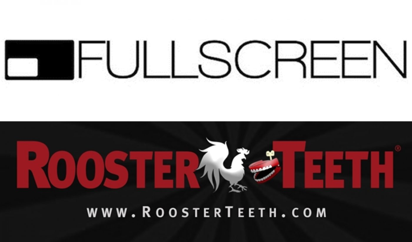YouTube Network Fullscreen To Acquire Rooster Teeth