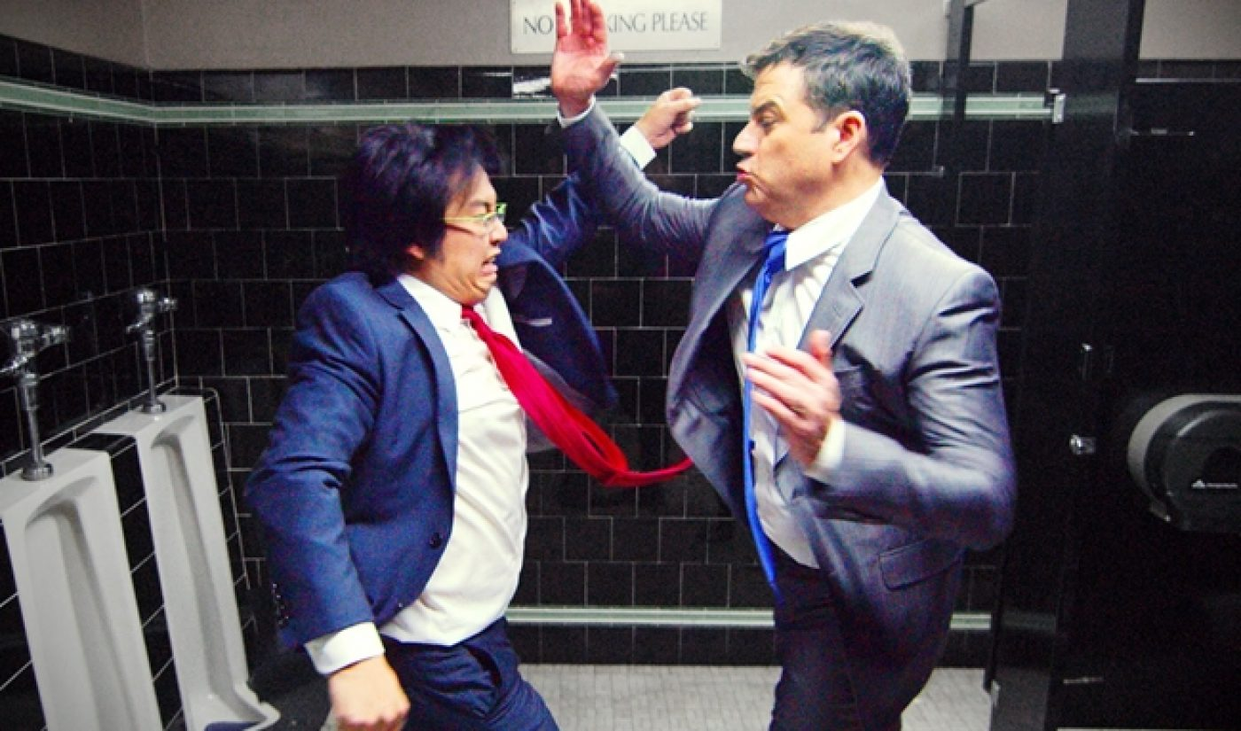 """Jimmy Kimmel, Freddie Wong Are """"Tie Fighters"""" In Epic Collaboration"""