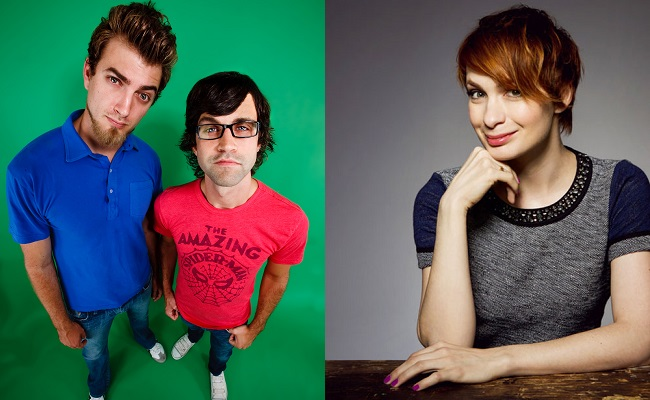Felicia Day, Rhett & Link To Judge Comedy Hack Day At YouTube Space LA