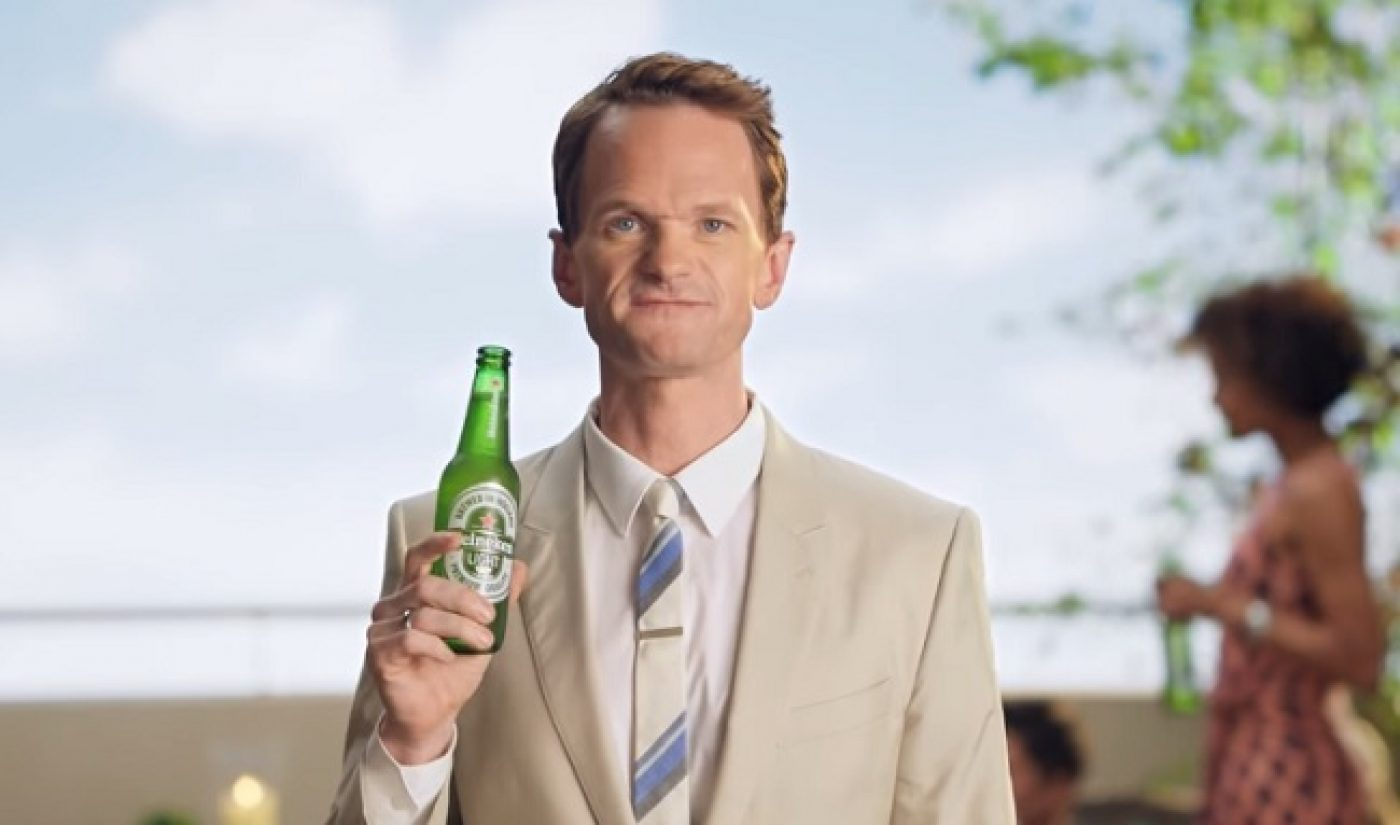 """Facebook And YouTube Are """"Equal Players"""" In Terms Of Video Ads Says Heineken Exec"""