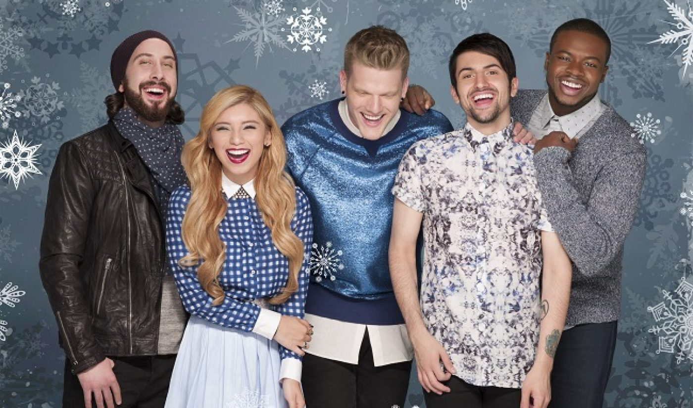 Pentatonix's Christmas Album Hits #1 On iTunes, Beats Taylor Swift