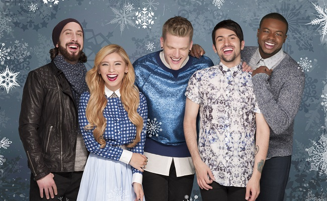 Pentatonix Christmas Youtube.Pentatonix S Christmas Album Hits 1 On Itunes Beats Taylor