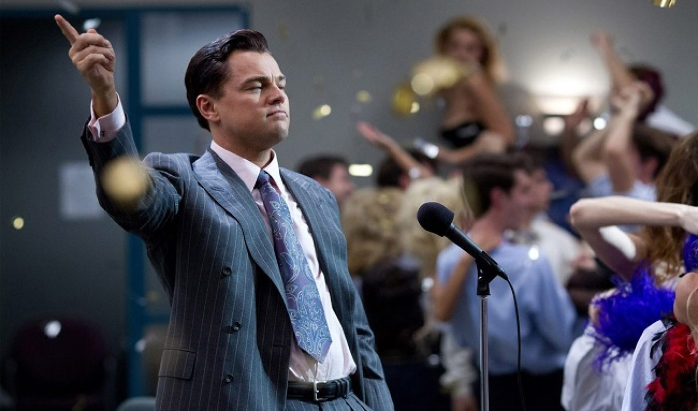 'The Wolf Of Wall Street,' 'Frozen' Torrented Roughly 30 Million Times Each In 2014