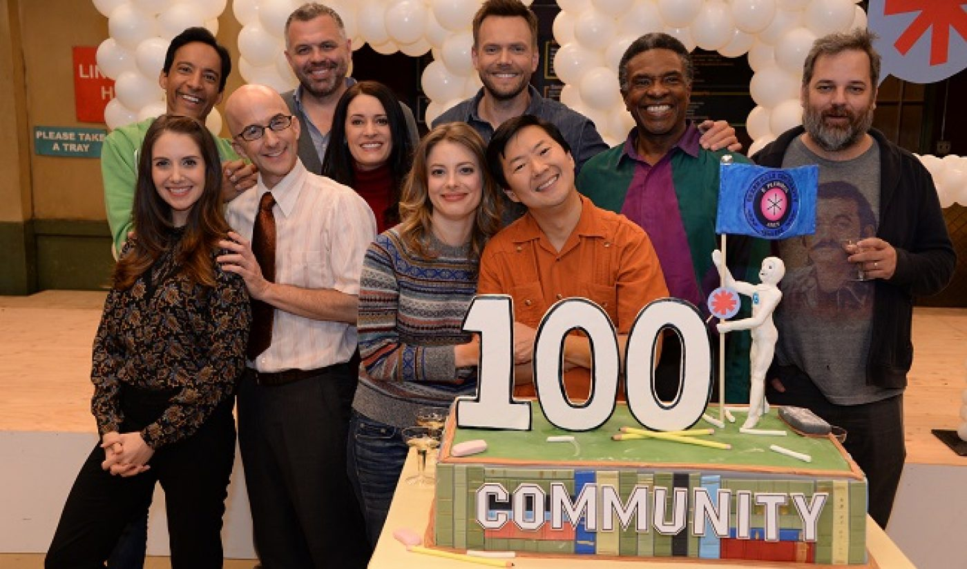 Cast, Crew Of Yahoo's 'Community' Celebrate The Series' 100th Episode