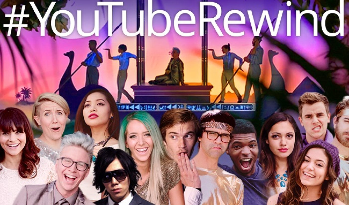 YouTube's Epic 2014 Rewind Video Features Over 120 Creators, Here's The List