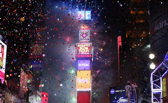 New Year's Eve 2014 In Times Square