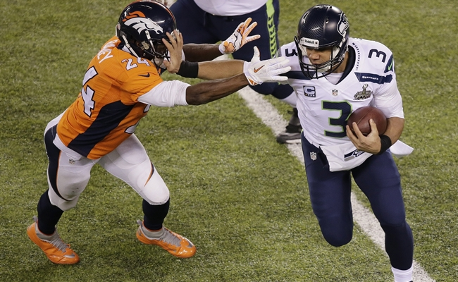 Russell Wilson,Champ Bailey