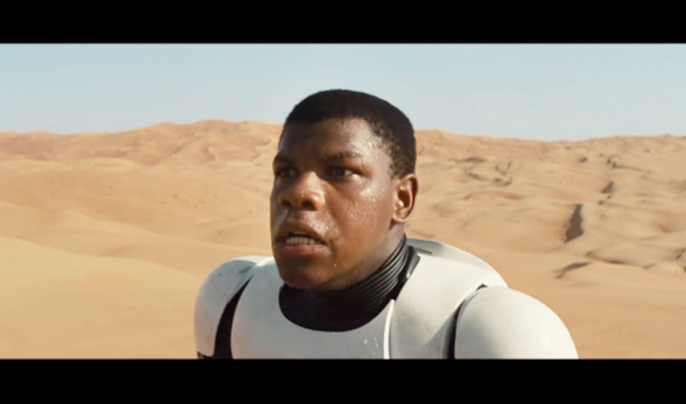 Teaser For 'Star Wars' Sequel Passes 50 Million Views Between Facebook, YouTube