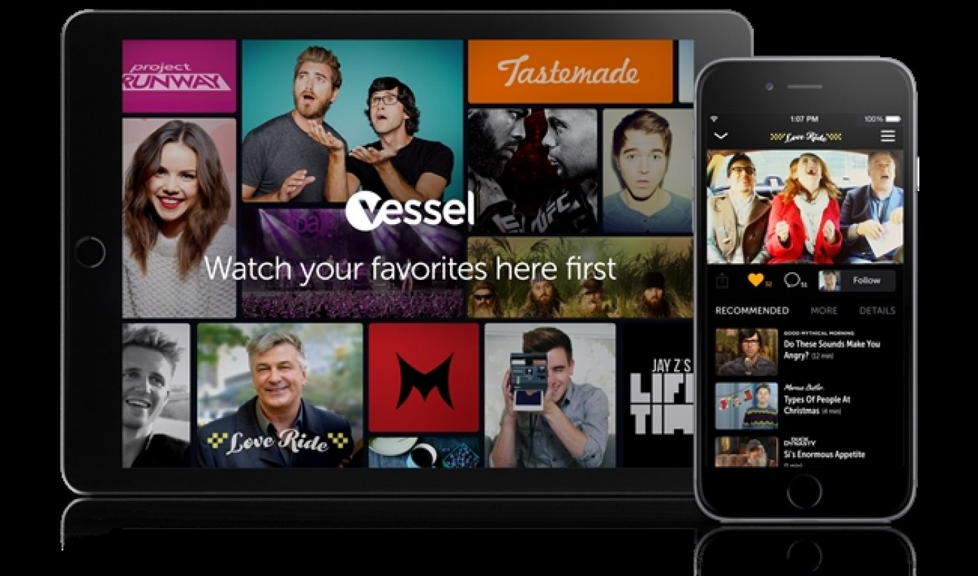 Vessel Shares Preview, Offers $50 Per Thousand Views, YouTube Stars Already On Board
