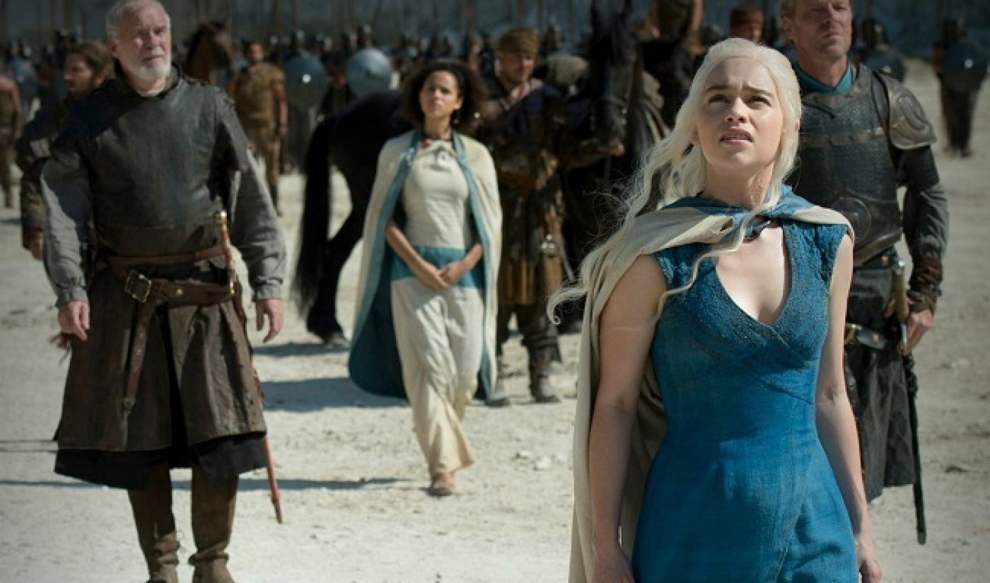 Users Torrented 'Game of Thrones,' 'Walking Dead' More Than 47 Million Times Each In 2014