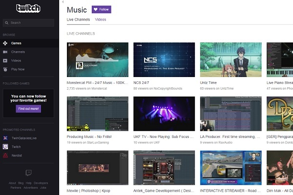 Twitch Adds Approved-Music Library For Creators, Music
