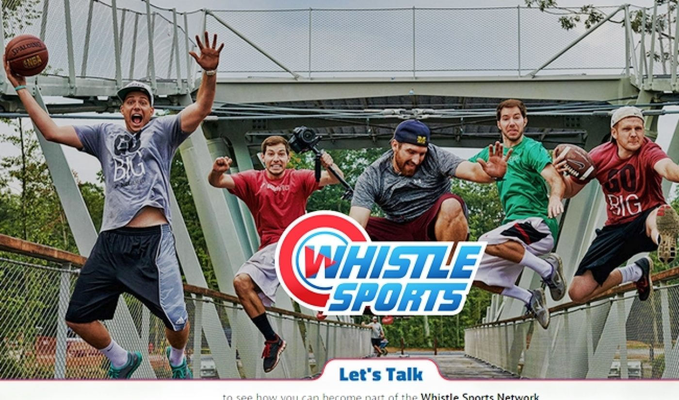 YouTube MCN Whistle Sports Announces $28 Million In Series B Funding