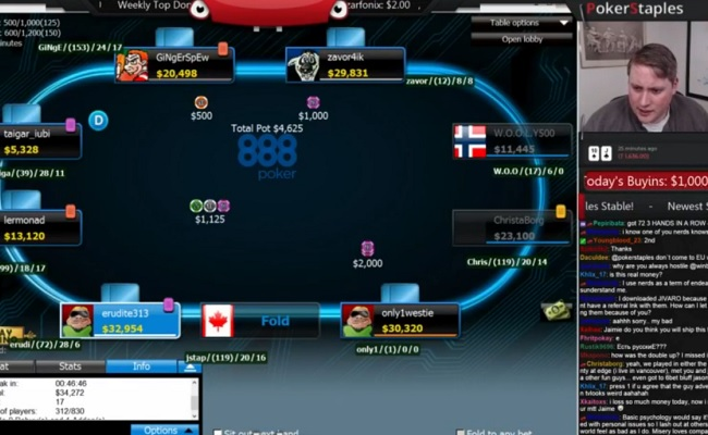 Pokerstars Twitch