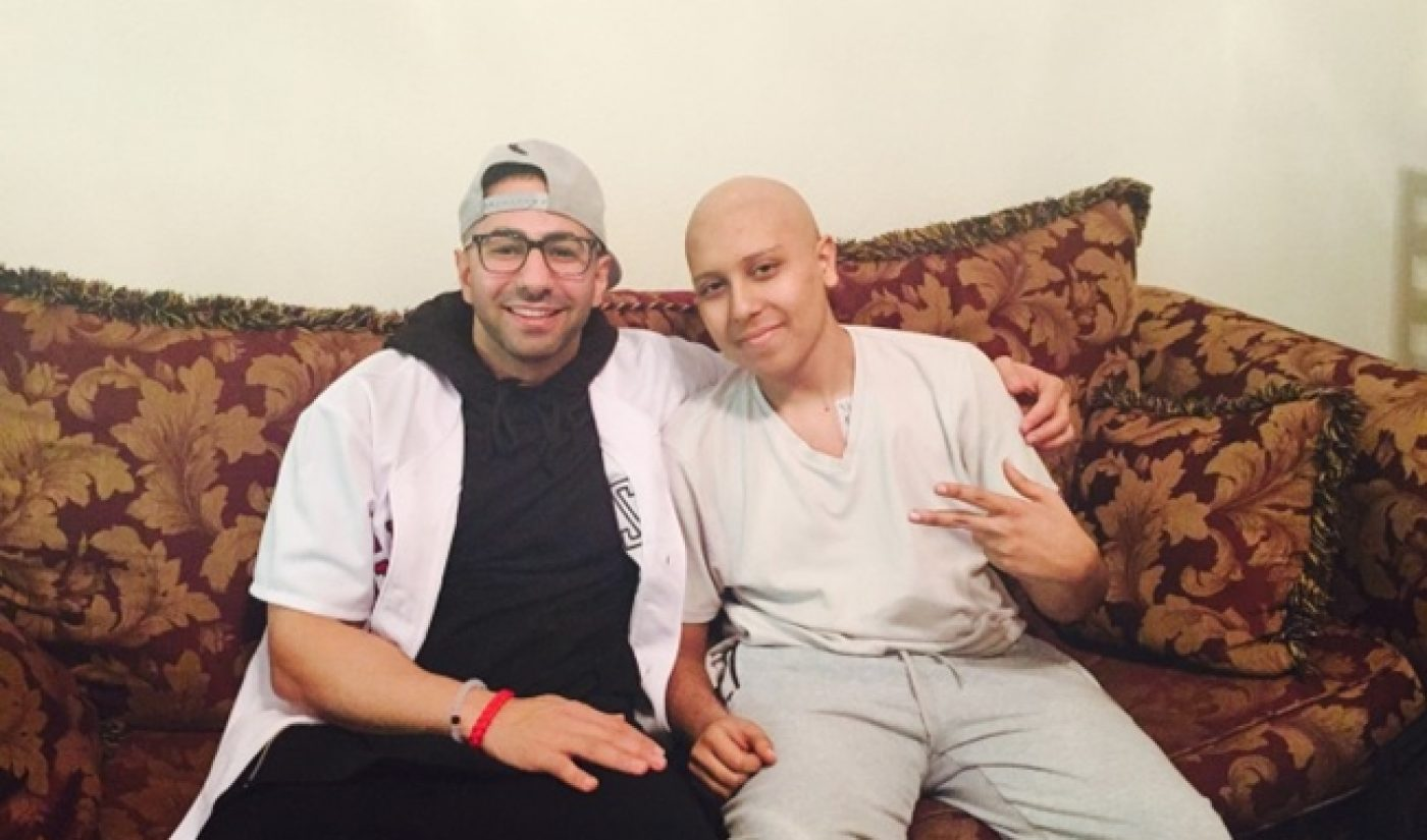 FouseyTUBE Helps Teenage Cancer Patient Become YouTube Star