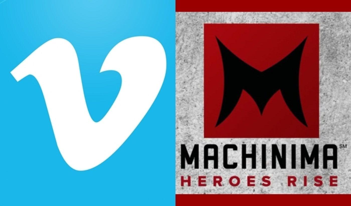 YouTube Network Machinima Brings Its Network Of 30,000 Creators To Vimeo On Demand