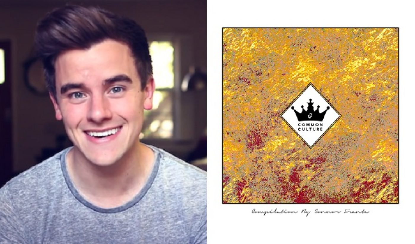 Connor Franta Debuts Second Compilation Album 'Common Culture'