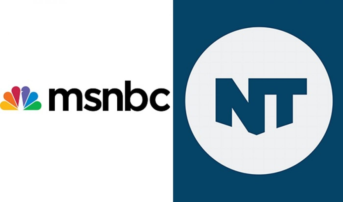 MSNBC, NowThis Team For Daily News Series On Facebook