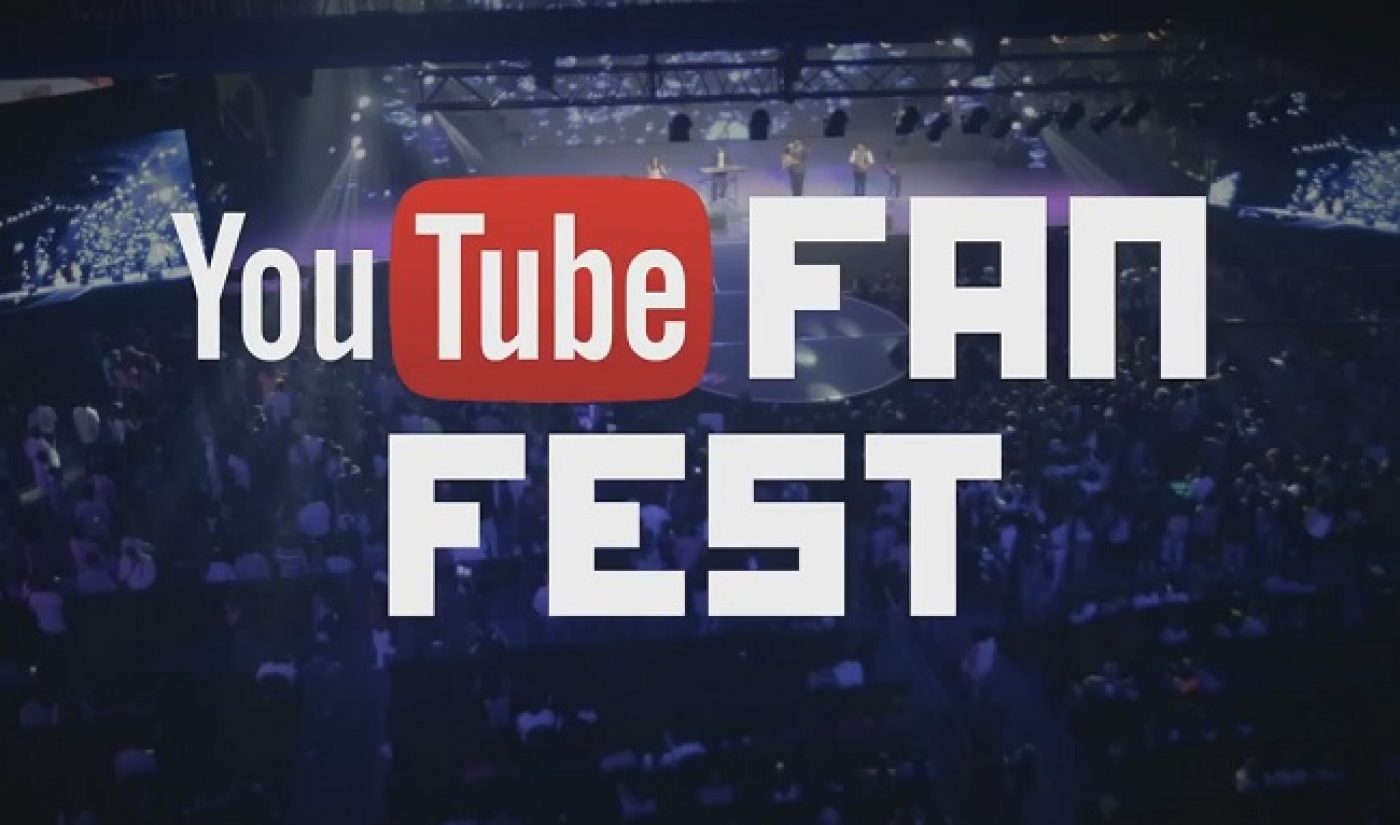 YouTube FanFest To Host First North American Event In Toronto