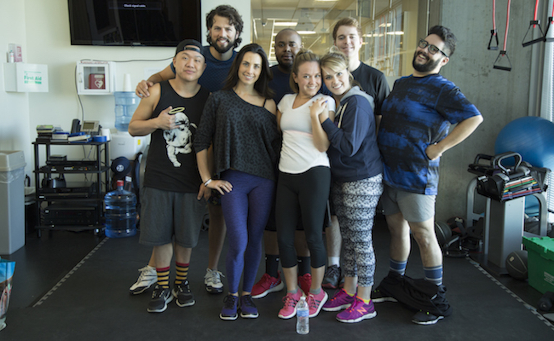 an inside look at the latest class of beachbody youtubers