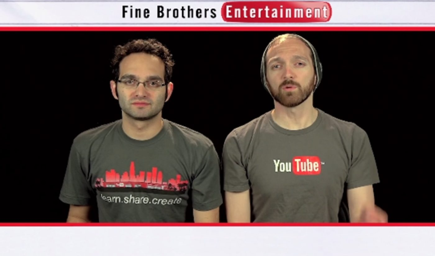 The Fine Bros Will Fund At Least Six New Shows From Third-Party Creators