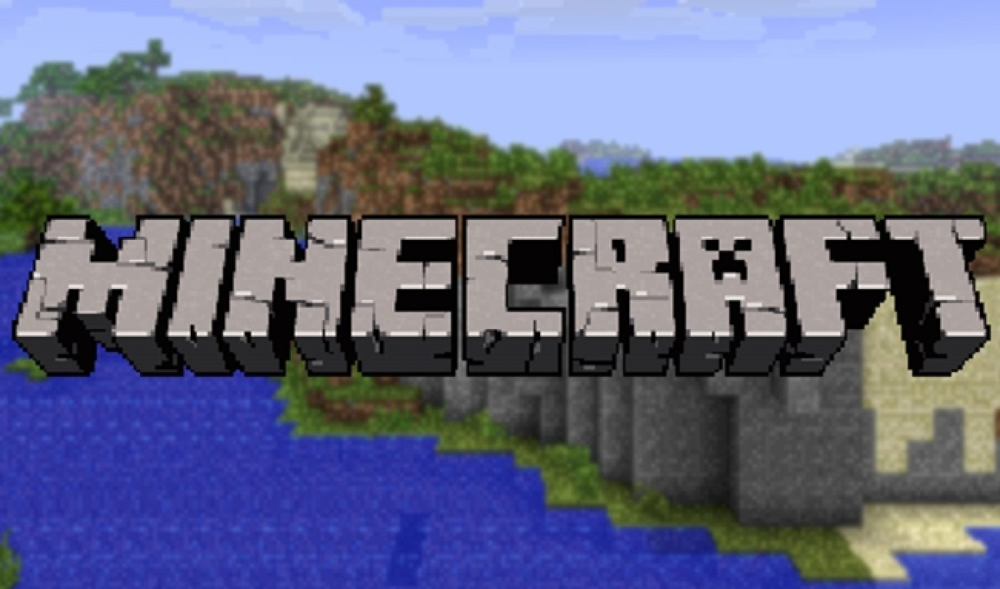 """""""Minecraft"""" Leads The Top 20 Video Games On YouTube [INFOGRAPHIC]"""